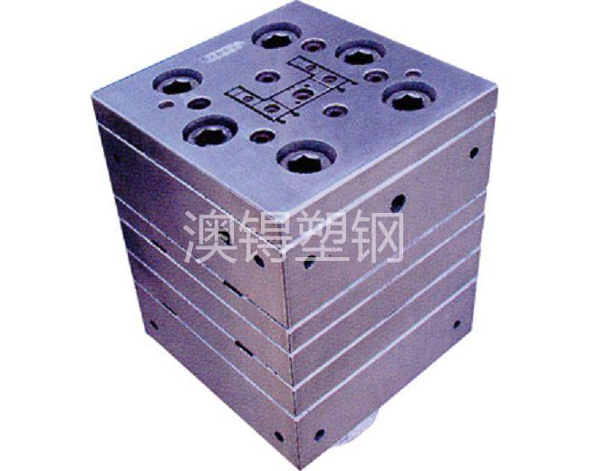 Two-rail frame die